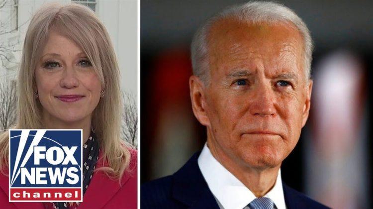 Kellyanne Conway slams Biden for failing to offer help as coronavirus spreads