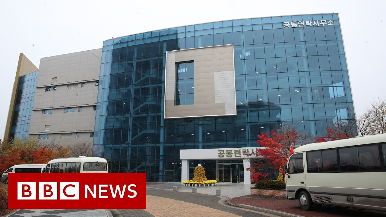 North Korea 'blows up joint liaison office' with South - BBC News